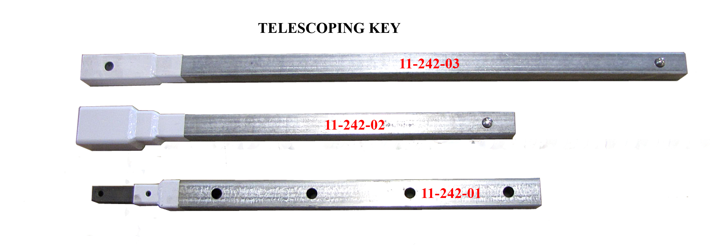 Telescopic 3ft Valve Key Extension