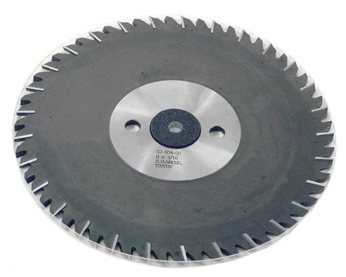 HSS Slitting Saw Blade 8in x 3/16in (203.2mm x 4.76mm)