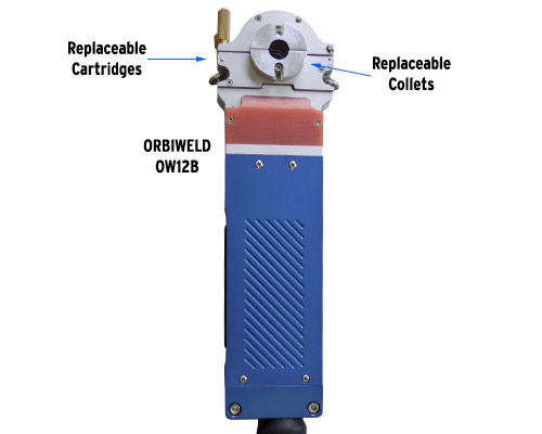Orbitalum Orbiweld 12 Enclosed Orbital Micro Fusion Weld Head