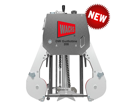 Diamond Wire Guillotine 208 Utility Pipe Saw / Cutter