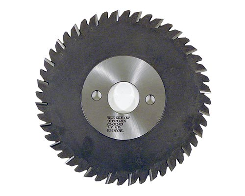 HSS Slitting Saw Blade 7in x 3/16in (177.8mm x 4.76mm)