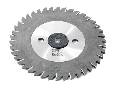 HSS Slitting Saw Blade 6in x 3/16in (152.4mm x 4.76mm)