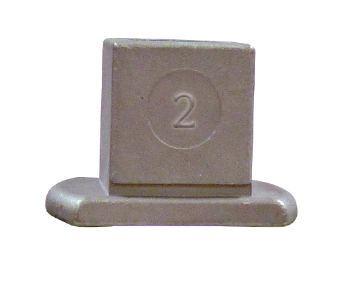 #2 Standard Stainless Steel AWWA Operating Nut
